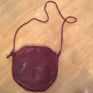 💙1970s Saddle River Leather Shoulder bag